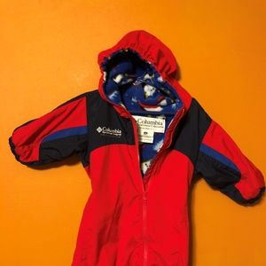 Columbia Snow Suit 12 month